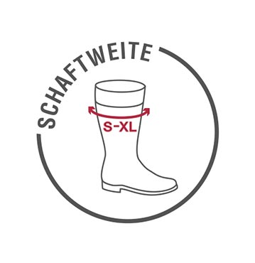 Schaftweite (S-XL)
